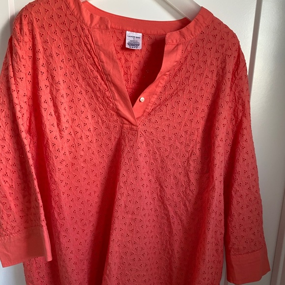 Lands End Coral top